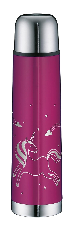 Alfi Thermos isoTherm Eco Unicorno 0, 75L, Acciaio Inox, Pink, 8,4x 9x 31,5cm 5457.910.075