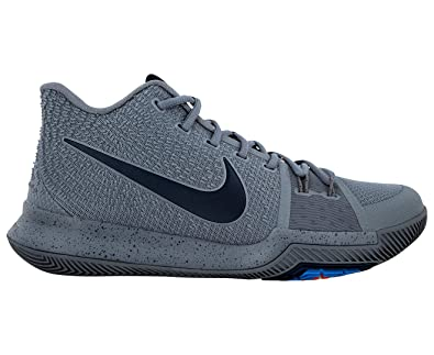 64205713bdc Nike Men s Kyrie 3 Shoe Cool Grey Midnight Navy Pure  Amazon.com.au ...
