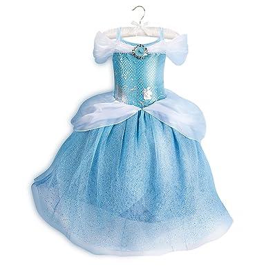 Disney Cinderella Costume for Kids Size 7/8 Blue  sc 1 st  Amazon.com & Amazon.com: Disney Cinderella Costume for Kids Blue: Clothing