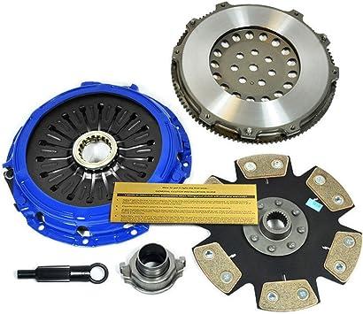 Amazon Com Eft Stage 4 Clutch Kit Race Flywheel Works With Mitsubishi Lancer Evo 4 5 6 7 8 9 4g63 Jdm Automotive