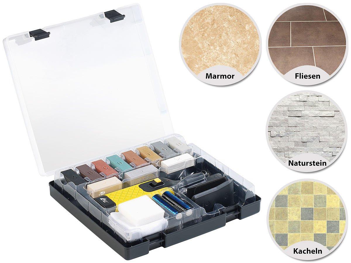 Kit set ripara pavimento piastrelle mattoni ceramica pietre marmo