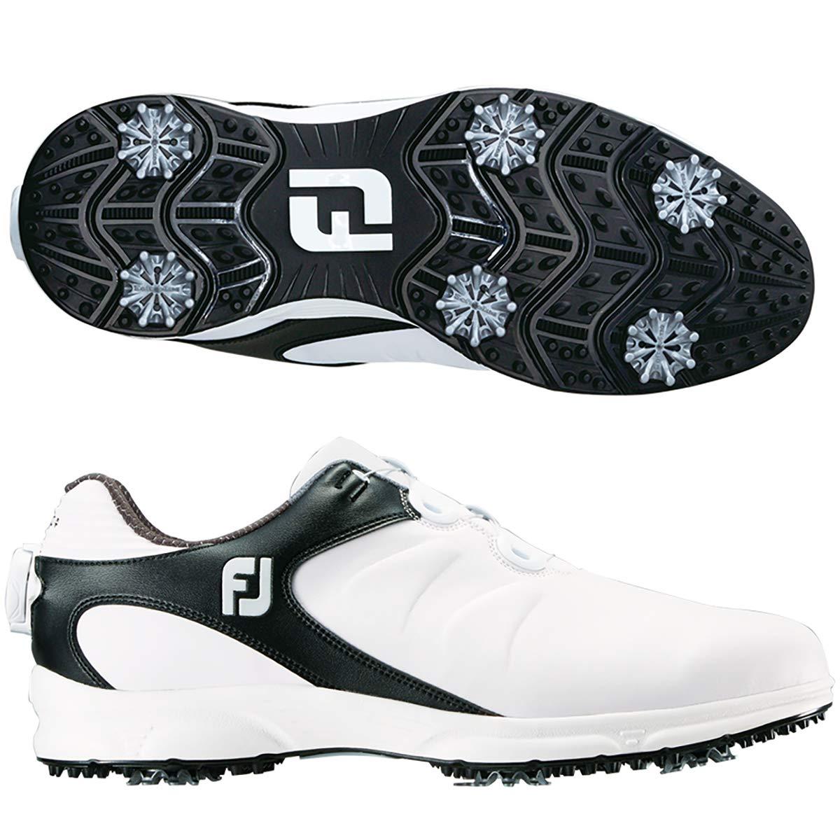 フットジョイ Foot Joy シューズ ARC XT Boaシューズ ホワイト/ブラック 26.5cm   B07PMMDJS2