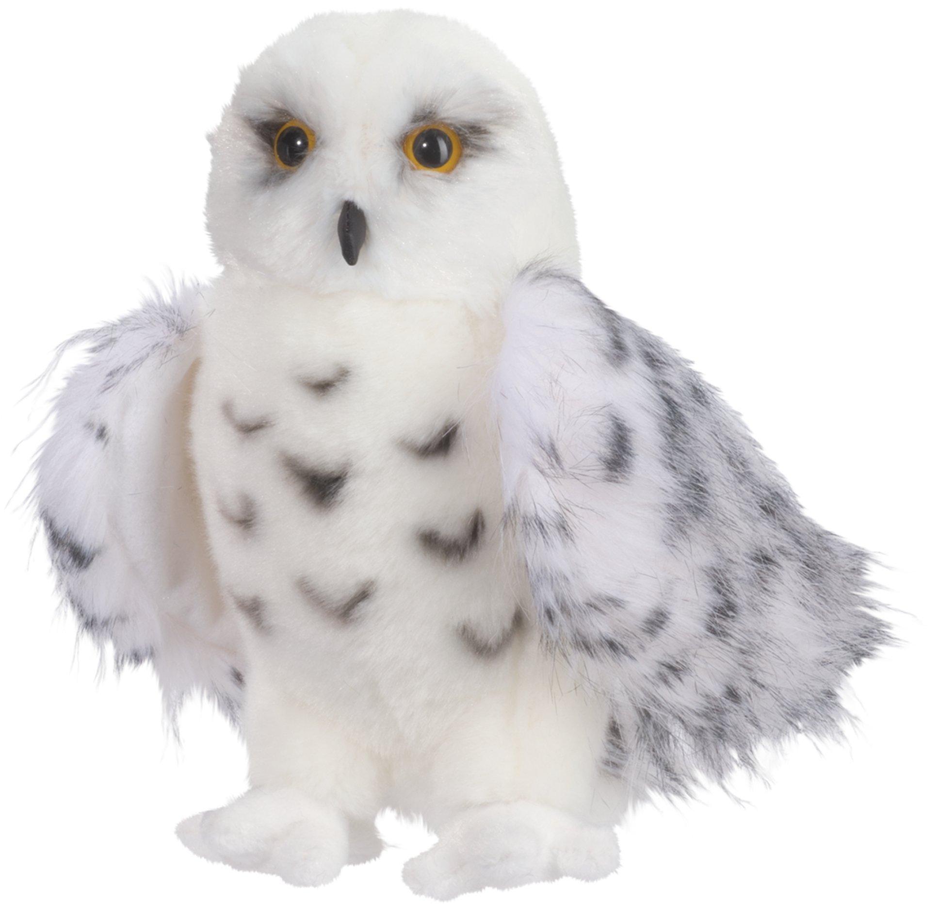 Douglas Cuddle Toys Wizard Snowy Owl 8'' By