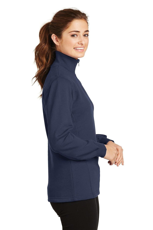 Sport-Tek Ladies 1//4-Zip Sweatshirt LST253