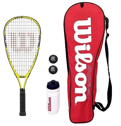 Wilson - Juego de Raqueta de Tenis Infantil Ripper con Bolsa ...