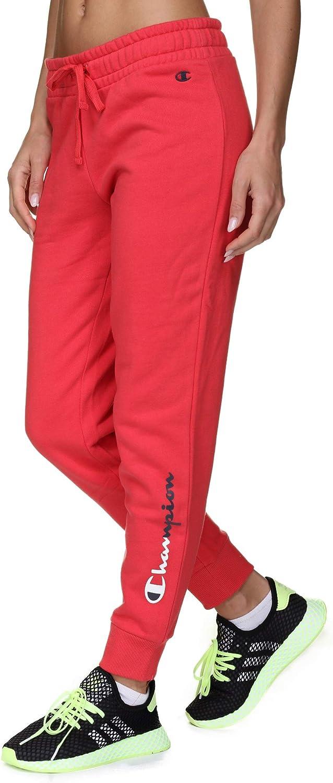 Champion 112063 Ps119 SLP - Pantalón de chándal para Mujer Rojo L ...