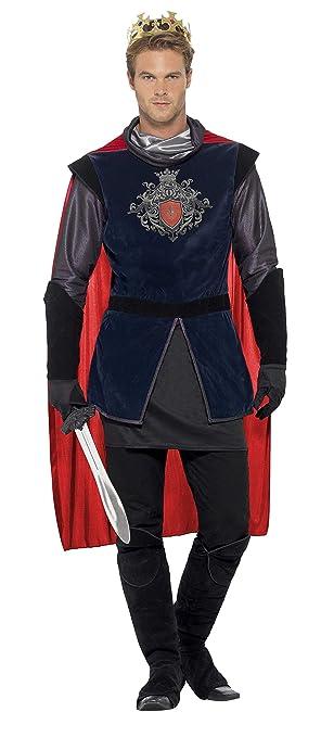 Smiffys Mens King Arthur Deluxe Costume