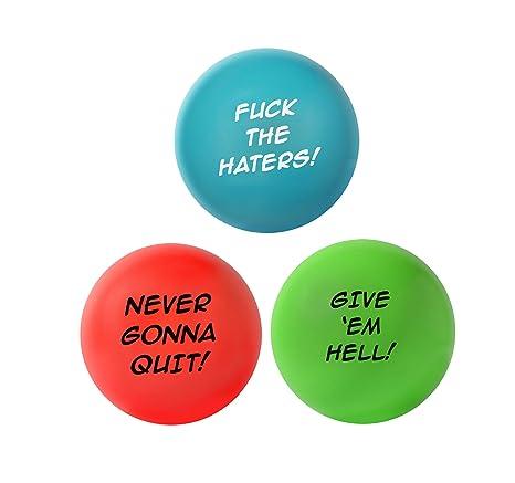Bolas de estrés motivadoras para adultos, ansiedad, alivio del ...