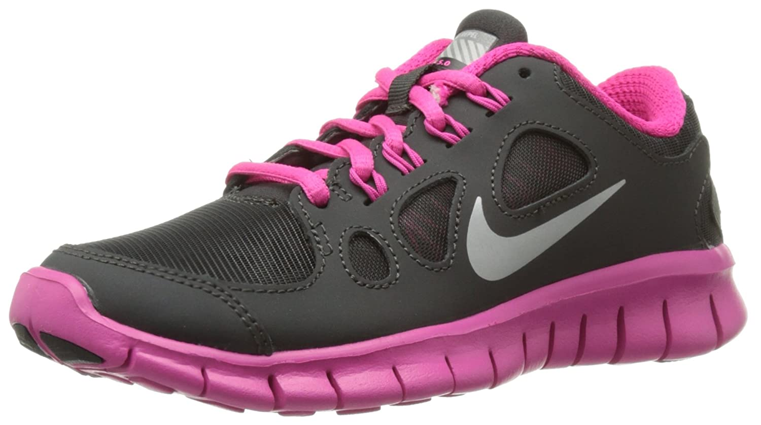 official photos c5df4 5d09b ... wholesale amazon nike free 5.0 shield gs 616698 001 charcoal pink size  6.5y running 9350d ...
