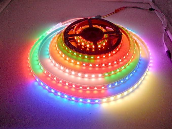 Ws2813 striscia led dream color impermeabile ip67 5m 300 led