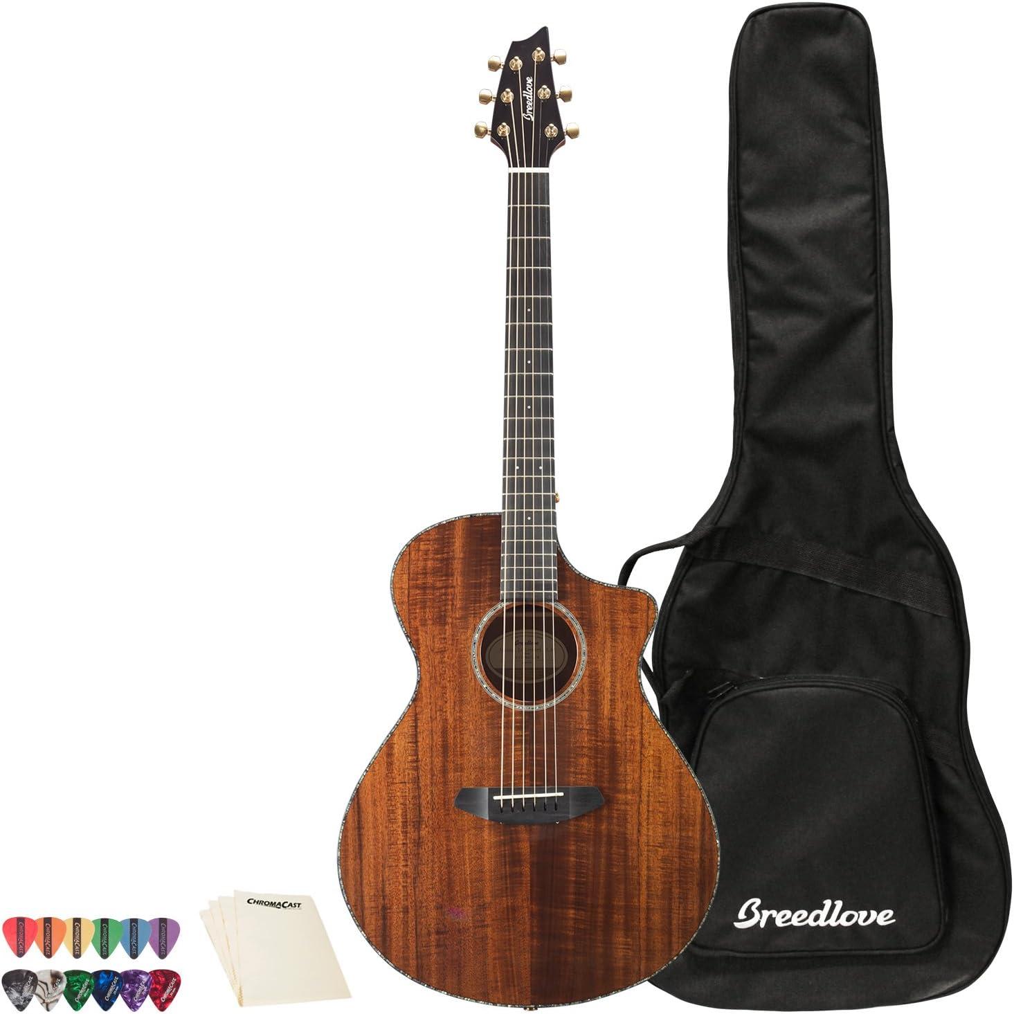 Breedlove Pursuit Exotic Concert CE Koa-Koa Guitarra acústica ...