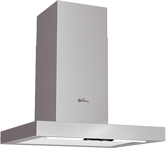 Balay 3BC861MY - Campana (Canalizado/Recirculación, 400 m³/h, Montado en pared, Acero inoxidable, Aluminio, 1 piezas): Amazon.es: Hogar