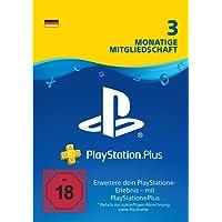 PlayStation Plus Mitgliedschaft | 3 Monate | PS4 Download Code - deutsches Konto