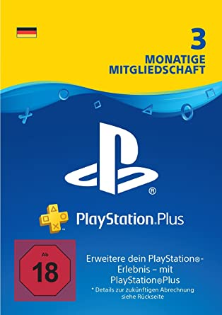 ps4 plus karte PlayStation Plus Mitgliedschaft | 3 Monate | deutsches Konto | PS4  ps4 plus karte