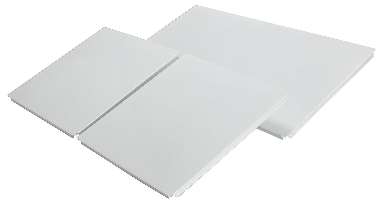 80 x 40 cm Set completo di schienale e fianchi Bianco Archimede Easy