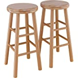 """Winsome Oakley Stool, 24"""", Natural"""