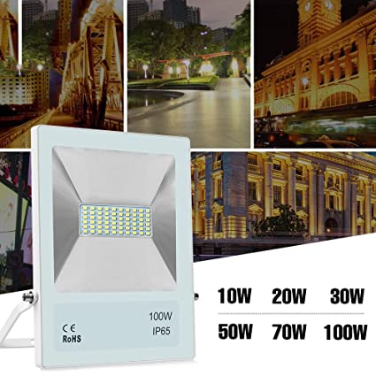 10W 20W 30W 50W 70W 100W Led Light Flood Ip65 Projecteur ...