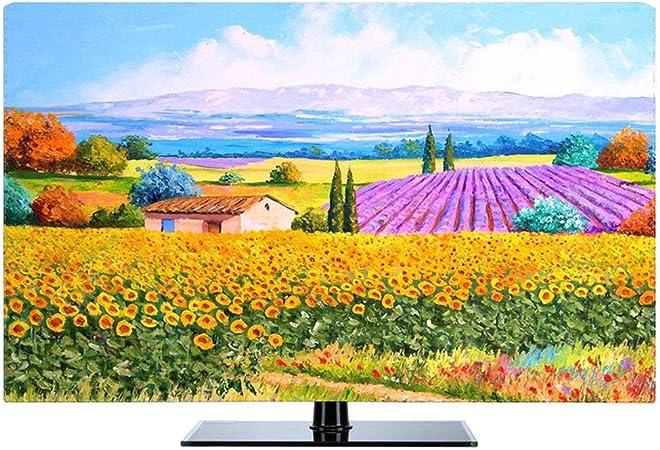 JT Cubierta para TV Funda De Escritorio Impermeable A Prueba De Polvo Universal LCD Televisor Cubiertas,Color1,75: Amazon.es: Hogar