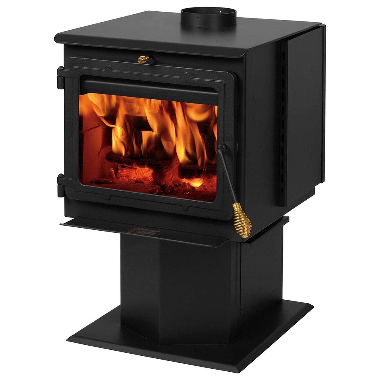 Amazon.com: Summers Heat 50-SHSSW02 Smartstove Wood Stove 2,400 ...