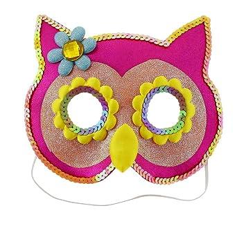 lentejuelas Máscara búho