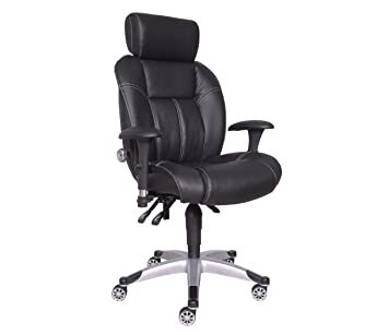 Charmant Sealy Posturepedic 9846U Edison Adjustable Chair, Black