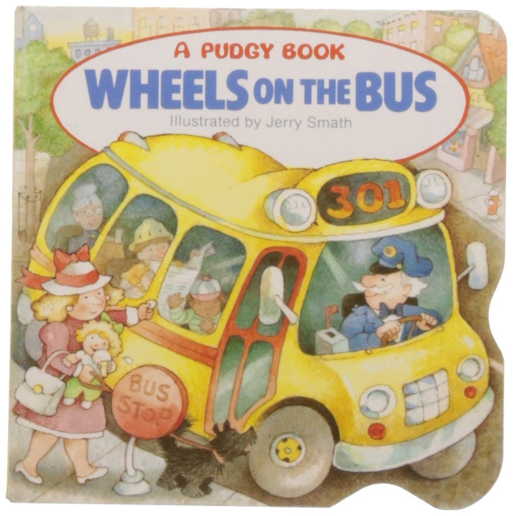 Wheels Bus Pudgy Board Book