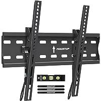 MOUNTUP Tilting TV Wall Mount Bracket for 26-55 Inch Flat Screen TVs/Curved TVs, Low Profile TV Wall Mount TV Bracket…
