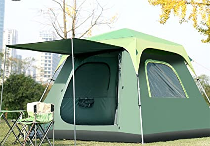 the best attitude 5d3d9 3fc80 Amazon.com : LUCKY-U Camping Tent, 5-8Person Anti-Rain Avoid ...