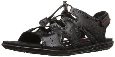5a976331db4 ECCO Footwear Womens Women s Bluma Toggle Sandal Black 36 EU 5-5.5 ...