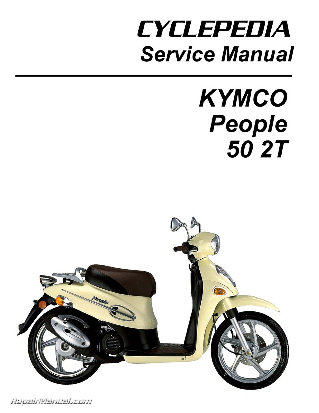 CPP-197-Print KYMCO People 50 Scooter Printed Service Manual: Manufacturer:  Amazon.com: Books