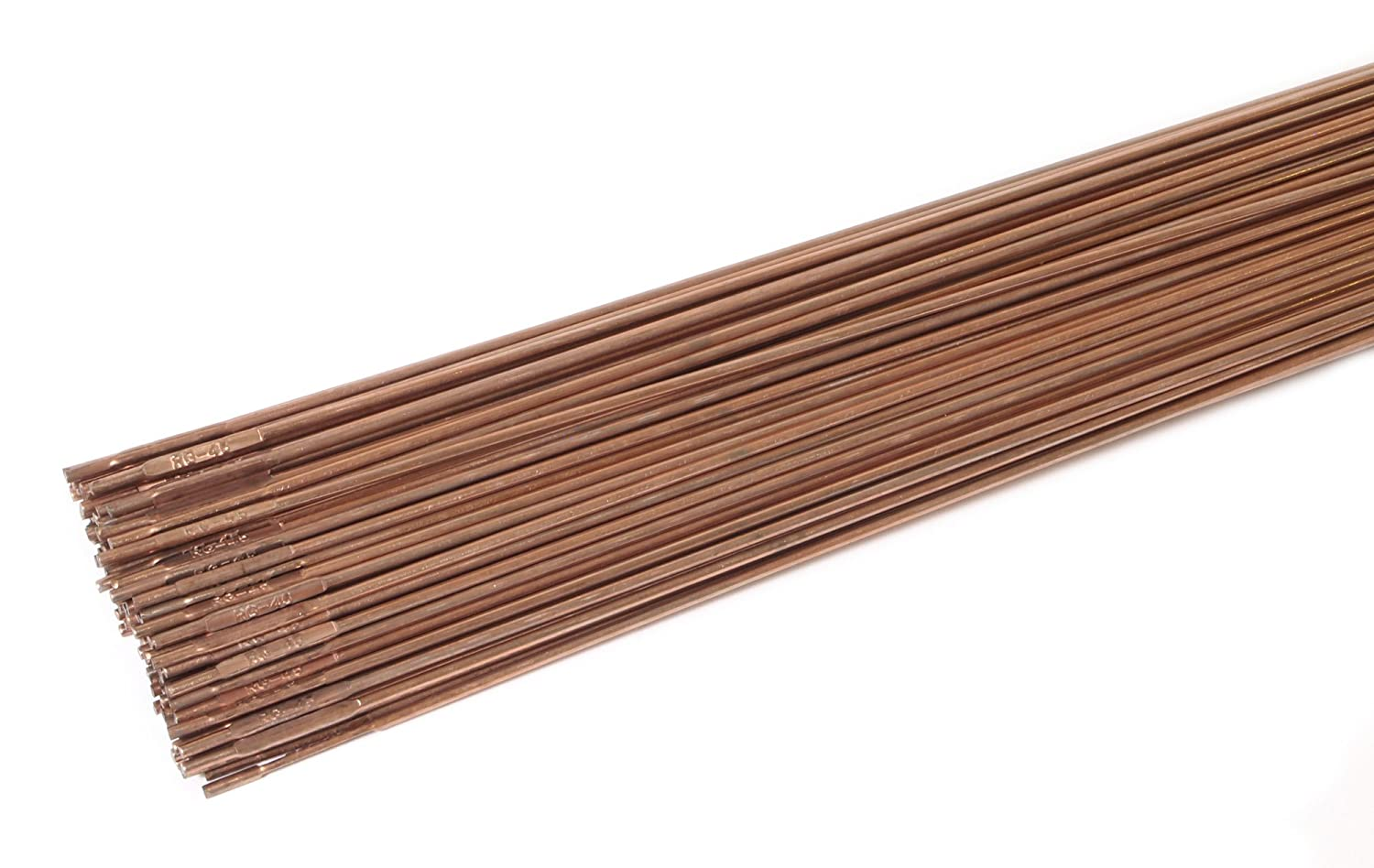 Forney 42330 Copper Coated Brazing Rod, 1/16-Inch-by-36-Inch, 5 ...