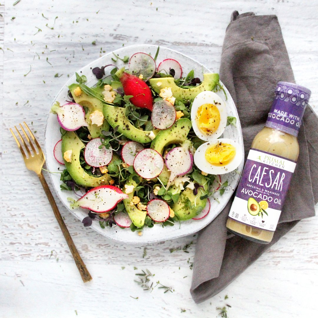 Primal Kitchen - Caesar, Avocado Oil-Based Dressing and Marinade, Whole30 and Paleo Approved, 2 Count by Primal Kitchen
