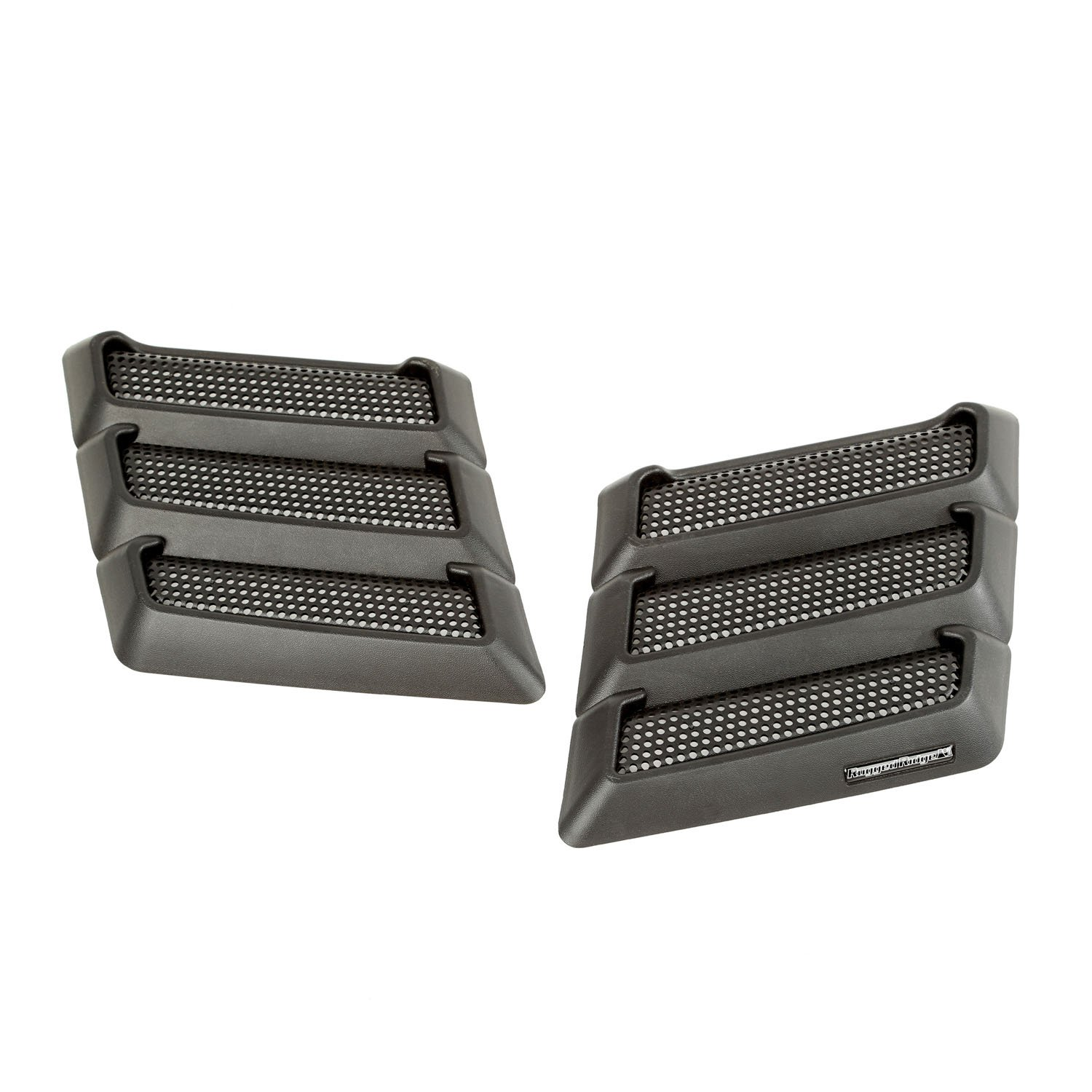Rugged Ridge 17759.09 Black Performance Hood Vent for Jeep JK Wrangler by Rugged Ridge (Image #1)