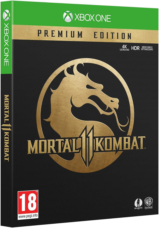 Mortal Kombat 11 Premium Edition - Xbox One - - Xbox One [Importación italiana]: Amazon.es: Videojuegos