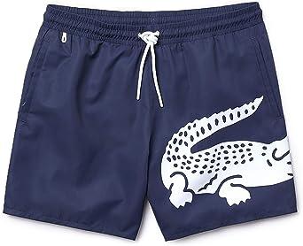 Lacoste Pantalones Cortos Para Hombre Natacion Trajes De Bano