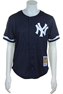 71549f88005 New York Yankees Mlb Mitchell And Ness  51 Bernie Williams Button Front  Jersey