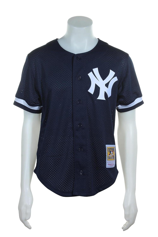 timeless design 38792 84f56 Amazon.com : New York Yankees Mlb Mitchell And Ness #51 ...