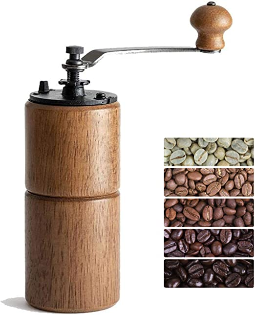 Perfect For The Home Mini Hand Coffee Grinder Manual Bean Mills Stainless Steel