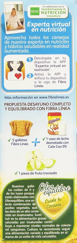Fibra Línea - 3 Cereales - Fibra de salvado de trigo - 500 g - [pack de 4]: Amazon.es: Alimentación y bebidas
