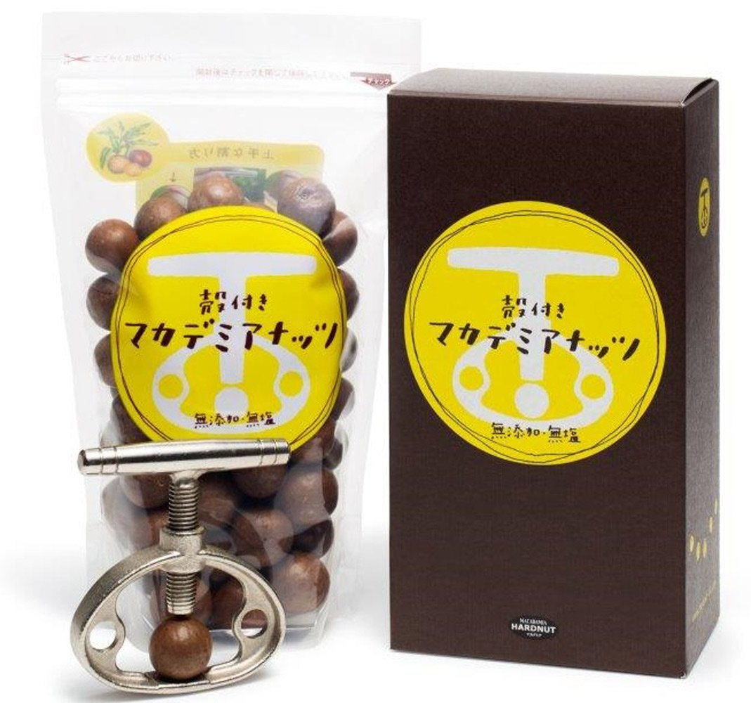 With shell with Macadamia 454g shell split device