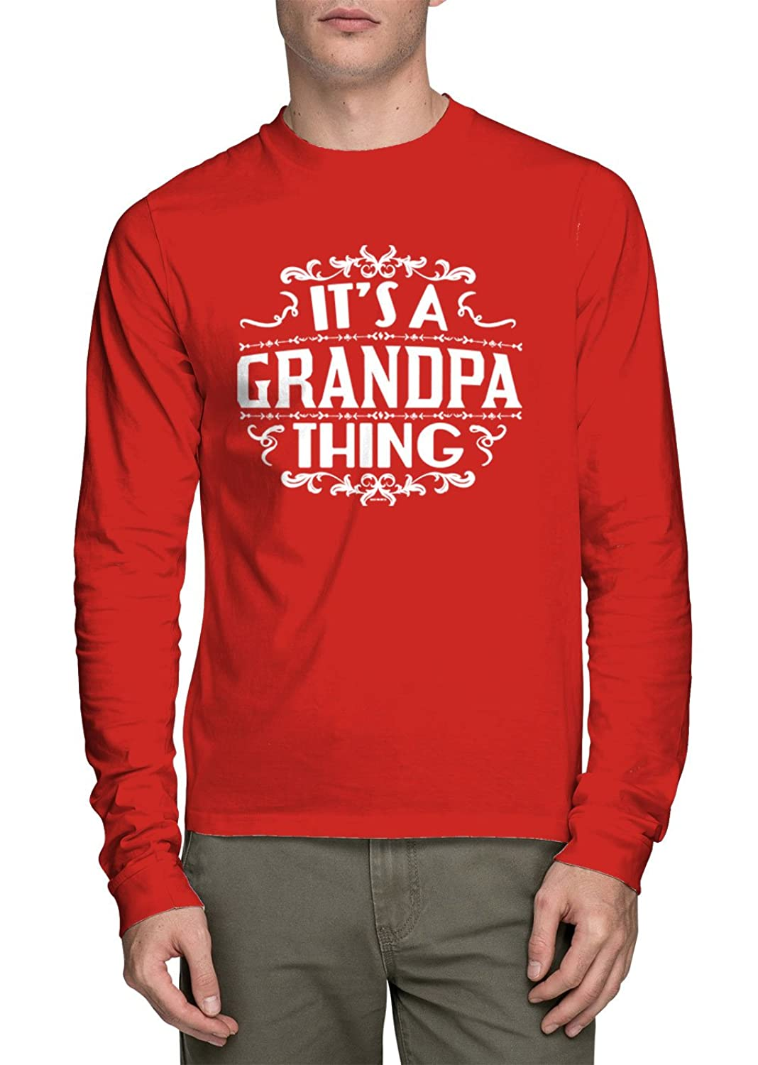 HAASE UNLIMITED Long Sleeves It's A Grandpa Thing - Father's Day Gift T-shirt