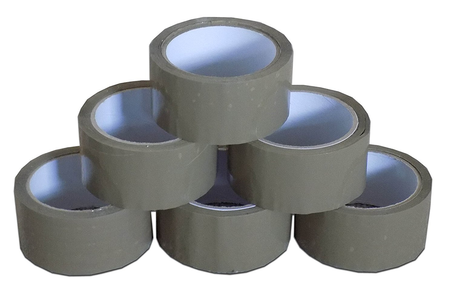 BROWN BUFF PACKING PACKAGING TAPE 6 ROLLS 50MM x 66M Realpack n.a