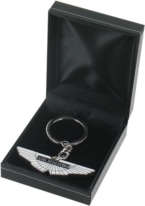 Aston Martin Car Keyring Aston Martin Keyring Black Leathertte Gift Box Included Amazon Co Uk Kitchen Home