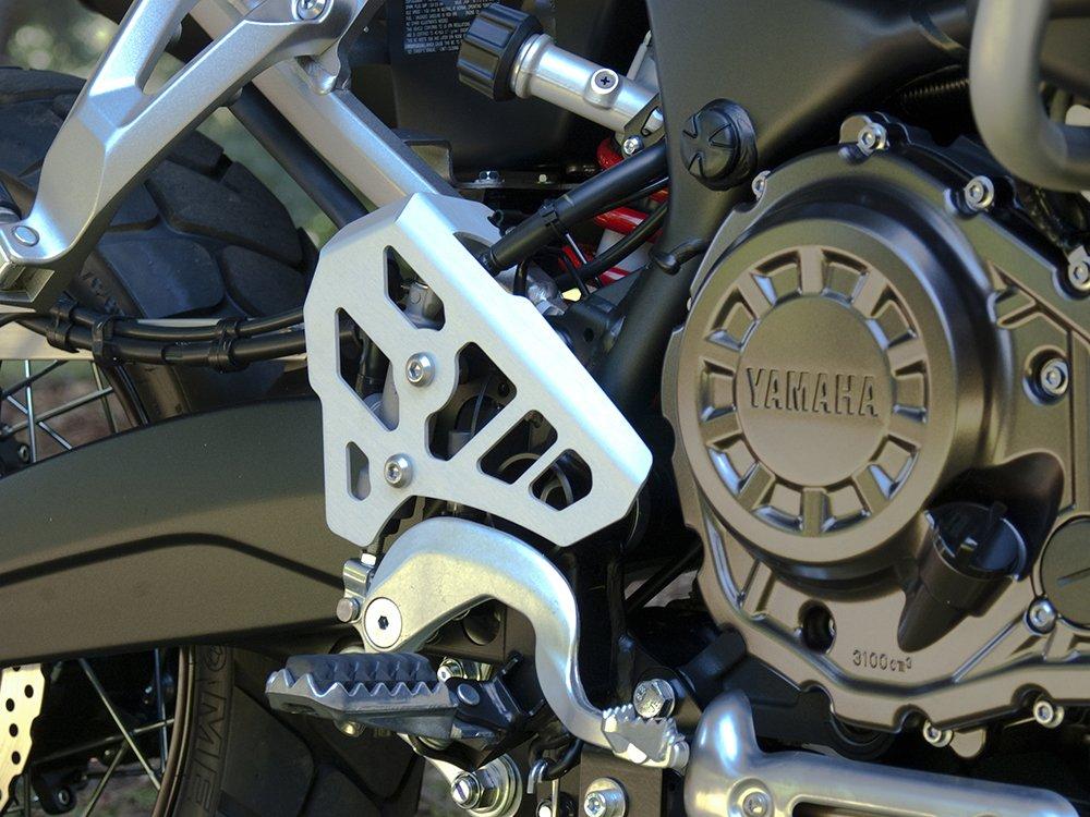 AltRider SU10-1-1100-V2 Silver Rear Brake Master Cylinder Guard for Yamaha Super Tenere XT1200Z