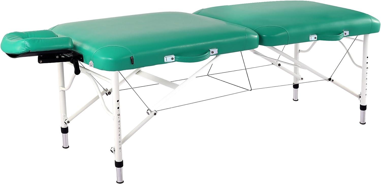 Master Massage 30 Calypso Ultra-Light Lx Massage Table Package, Emerald Green, 25 Lbs