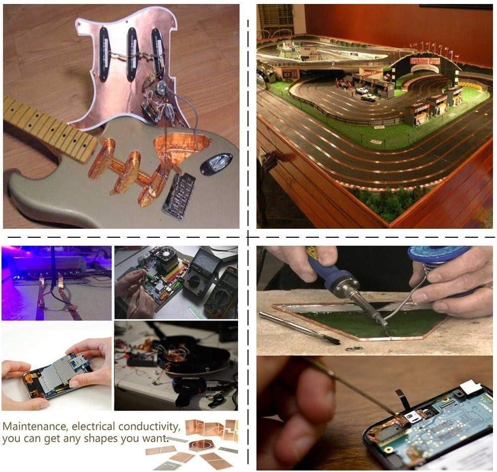 Rollos de cinta de cobre Deedma con lámina conductora y adhesivo ...