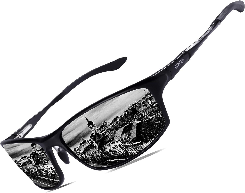 Bircen Polarisierte Sonnenbrille für Herren und Damen -
