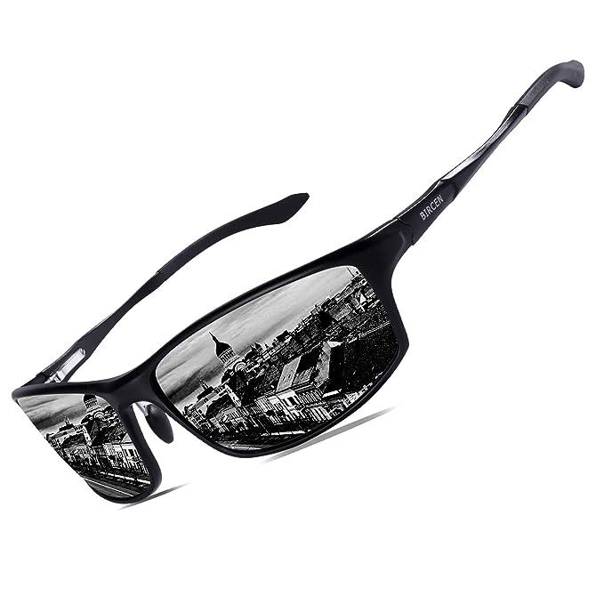 Amazon.com: Bircen - Gafas de sol polarizadas para hombre y ...