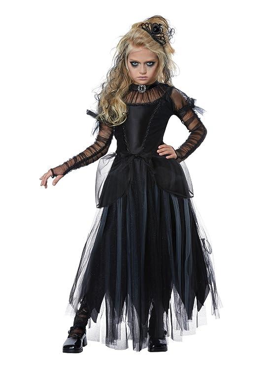 Steampunk Kids Costumes | Girl, Boy, Baby, Toddler California Costumes Dark Princess Child Costume- $45.95 AT vintagedancer.com