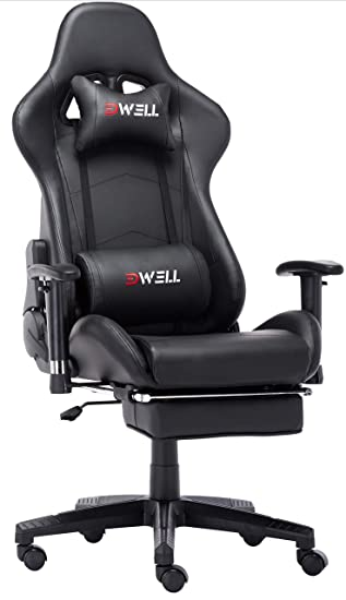 Peachy Edwell Computer Gaming Chair Height Adjustable Swivel Pc Caraccident5 Cool Chair Designs And Ideas Caraccident5Info